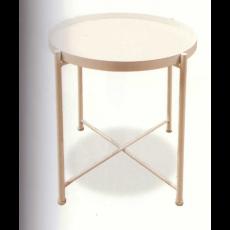 원형철판티테이블